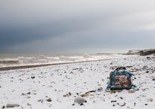Hummer-Strand stockfotografie