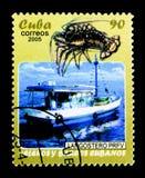 Hummerfartyg, kubansk fartyg- och segelbåtserie, circa 2005 Arkivbild