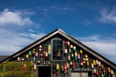 Hummerfiskares hus Arkivfoto