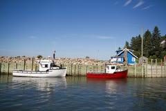 Hummerfiskebåtar   Royaltyfria Foton