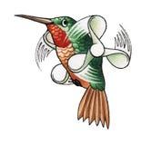 Humming-bird_2 Imágenes de archivo libres de regalías