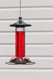 Hummingbird feeder Stock Image