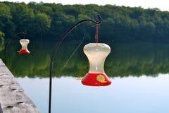 Hummingbird Feeders Stock Images