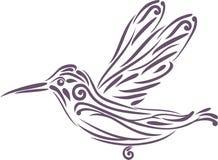 Hummingbird. Icon for logo design Stock Photography