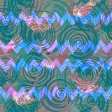 Hummingbird seamless pattern. Royalty Free Stock Photography