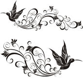 Hummingbird. Vector illustration  Royalty Free Stock Images