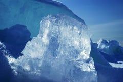 Hummocks do gelo Imagem de Stock