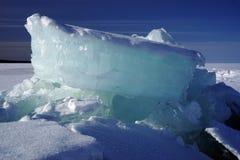 Hummocks do gelo Fotos de Stock