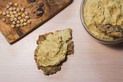 Hummus и нуты Стоковое фото RF
