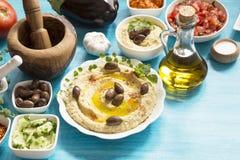 Hummus 免版税库存图片