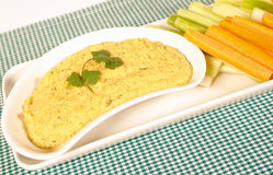 Hummus Stockfotos