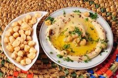 Hummus Photo stock