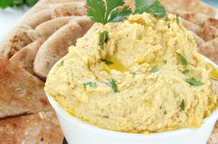 Hummus Royalty Free Stock Photo