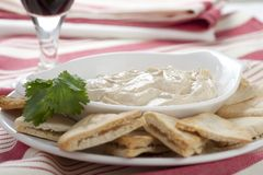 Hummus Appetizer Stock Images