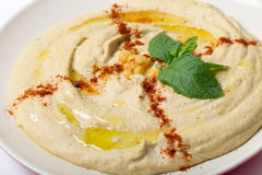 Hummus from channa dal Royalty Free Stock Images