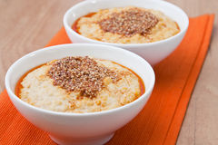 Hummus - Chickpeas Puree Royalty Free Stock Images
