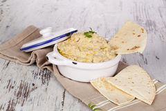 Hummus. Royalty Free Stock Images