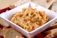 Hummus dip Stock Photography