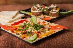 Hummus Royalty Free Stock Photos