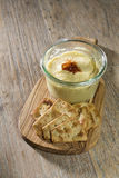 Hummus or houmous dip. Royalty Free Stock Image