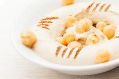 Hummus Labneh双Toum 库存图片