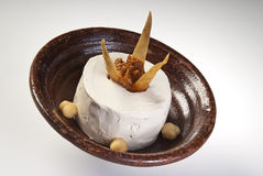 Hummus plate Stock Image