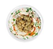 Hummus Salad Stock Images