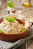 Hummus sauce Stock Photography