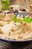 Hummus sauce Royalty Free Stock Photo