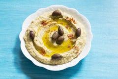 Hummus royalty free stock photography