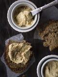 Hummus Fotografia Stock Libera da Diritti