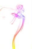 Humo abstracto del color Foto de archivo