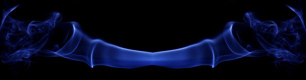 Humo azul fotos de archivo libres de regalías