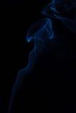 Humo azul fotografía de archivo libre de regalías