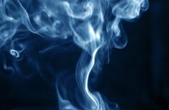 Humo azul Fotografía de archivo