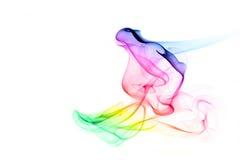 Humo coloreado Foto de archivo libre de regalías