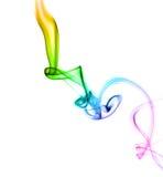 Humo coloreado de Astract Foto de archivo libre de regalías