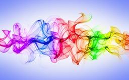 Humo colorido abstracto Fotografía de archivo libre de regalías