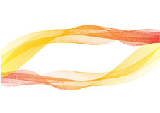 Humo colorido abstracto en blanco, para el diseño del fondo de la bandera stock de ilustración