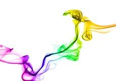 Humo del arco iris Imagen de archivo