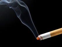 Humo del cigarrillo Foto de archivo libre de regalías