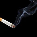 Humo del cigarrillo Fotografía de archivo