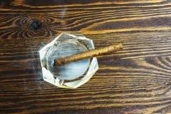 Humo del cigarro Imágenes de archivo libres de regalías
