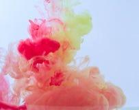 Humo del color Fotografía de archivo