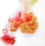 Humo del color Imagen de archivo libre de regalías