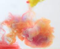 Humo del color Fotos de archivo