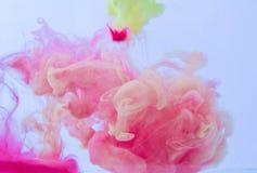 Humo del color Foto de archivo