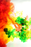 Humo del color de la mezcla. Fotos de archivo