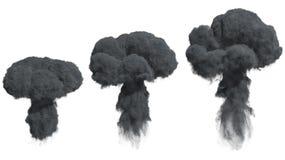 Humo denso negro libre illustration