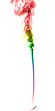 Humo multicolor abstracto Fotos de archivo libres de regalías